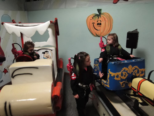GHOSTBUSTERS HALLOWEEN FUNSPOT