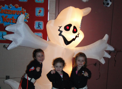 GHOSTBUSTERS HALLOWEEN SANBORNTON CENTRAL