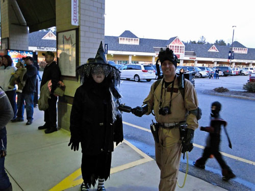 GHOSTBUSTERS HALLOWEEN TANGER OUTLETS