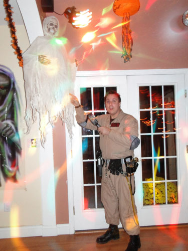 GHOSTBUSTERS NATHAN CATHY HALLOWEEN PARTY