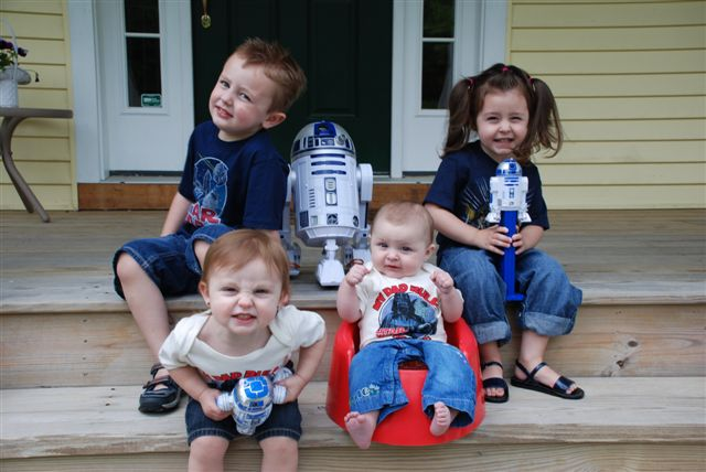 My Star Wars Kids - Father's Day 2009