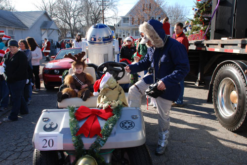 R2-D2 Laconia Holiday Parade 2009