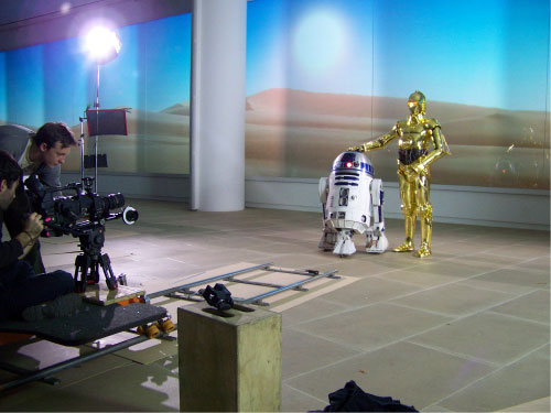 R2-D2 Music Video Shoot 2010