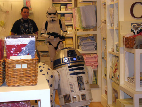R2-D2 at Pottery Barn Kids